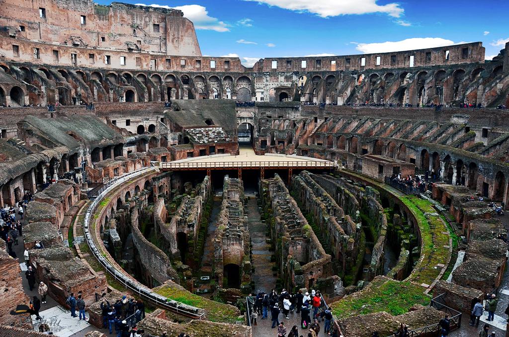 Interior  of  Colosseum,   Rome