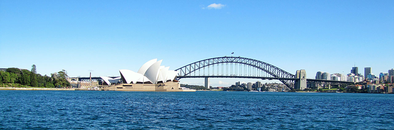 """Opera House & Harbour Bridge"" – Sydney Australia"
