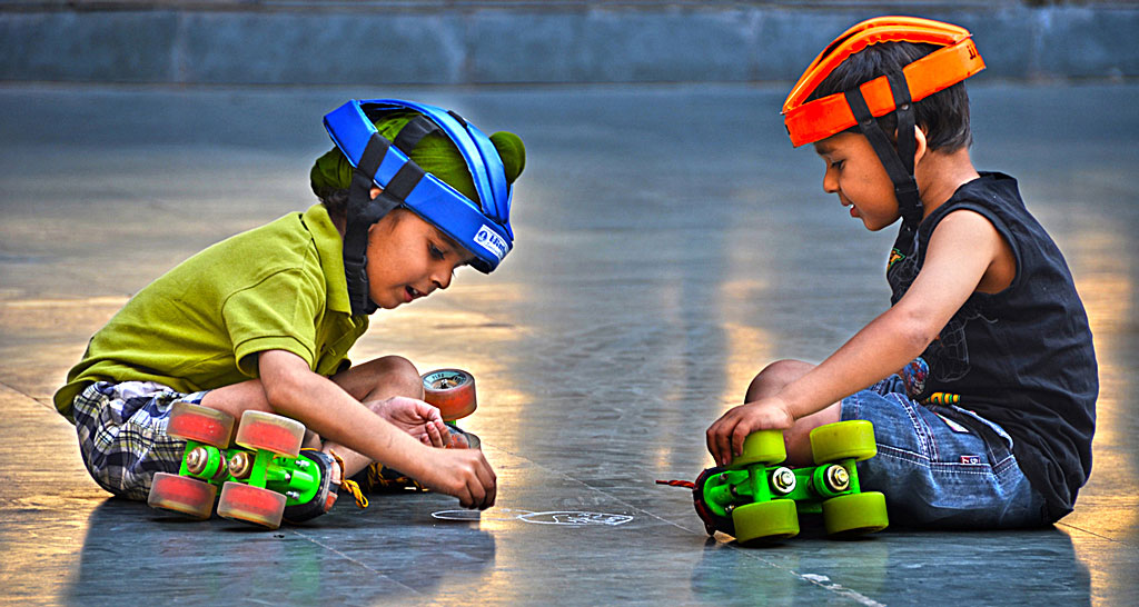 Skating   Boys   –  Chandigarh ,  India
